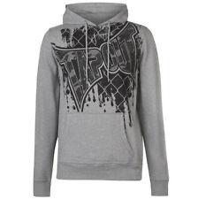 Tapout Core OTH Herren Kapuzen  Sweatshirt S M L XL 2XL Hoodie Pullover Grau neu