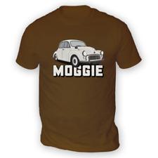 Morris Moggie Mens T-Shirt -x13 Colours- Gift Present British Classic Hobby