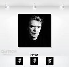 David Bowie - 5 - Quadro stampa su Tela Pelle Canvas Dipinto Arte Moderna