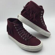 Vans Men/Women's Shoes ''Sk8'Hi Moc--(Suede)--Port Royale/Blanc