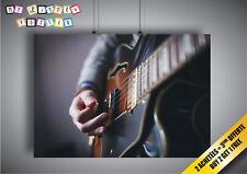 Poster Guitare Électrique Cordes Solo Basse