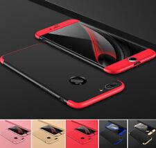 Hülle für iPhone 7 / 8 Full Cover 360 Grad Handy Case Slim Schale + Schutz Glas