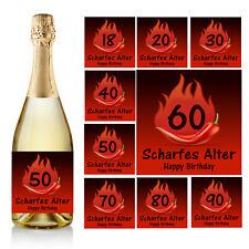 "D4 1 Aufkleber Flaschenetikett Geburtstag // Feier /"" NIX /"" Fun Etikett"