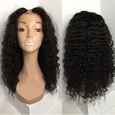 8A Curly U Part Human Hair Wigs For Black Women Virgin Human Hair U Part Wigs