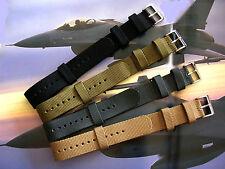 22m NATO G10® Aviator™ Military watchband Combat Army sport strap Balistic Nylon