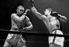 Rocky marciano boxe poster 4 (tailles-A5-A4-A3-A2) + gratuit surprise affiche A3