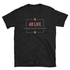 40 Life EDH - Magic the Gathering Unisex T-Shirt MTG Commander