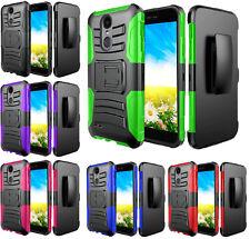 Clip + Hybrid Case Phone Cover For LG K30 X410TK / K10 Plus / K10 Alpha / X4