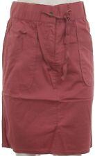 Boysen's Ladies Skirt Stretch Knee Length Pockets Rosewood 314866