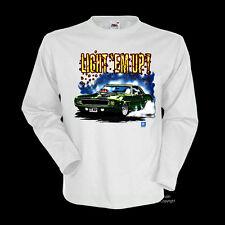 * 70er Camaro Chevrolet Musclecar T-Shirt *0107 wh LS