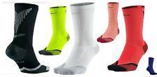 Nike Elite Dri-Fit Cushioned Crew Reflective Running Training Gym Unisex Socks-