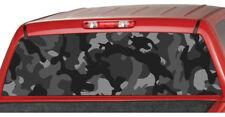 URBAN CAMO BLACK Rear Truck Window Graphic Decal Tint suv ute camouflage pickup