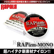 Rapala RAPizm-MONO Nylon Line 150m Clear