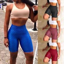 Womens High Waist Yoga Slim Pants  Workout Athletic Leggings Pants