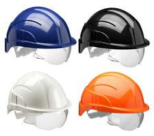 CENTURION Vision Plus Safety Helmet Hard Hat with Integral Visor Eye Protection