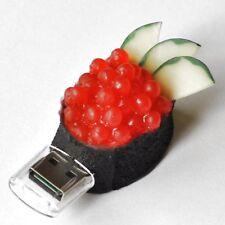 Clé usb 8 Go sushi gunkanmaki saumon caviar riz Caviar