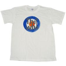 L'obiettivo che effetto invecchiato Bullseye Stile Retrò Stampa Ufficiale Bianco T-shirt 9d