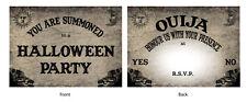 Halloween Invitations - ' Ouija Tableau' Style - x 24, AVEC OU SANS enveloppes