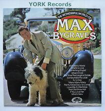 MAX BYGRAVES - The Wonderful World Of ... - Ex Con LP Record Hallmark HMA 256