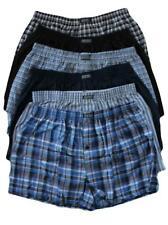 Boxer Shorts Pack Of 12 Men's Woven Boxers Cotton Rich Comfort Fit Underwear