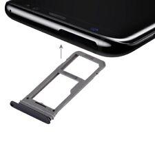 for Samsung Galaxy S8 SIM Card Tray + Micro SD / SIM Card Tray(Black)