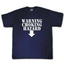 Avertissement risque d'étouffement Naughty, drôle, rude, Refroidir T-shirt