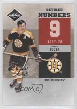 2011-12 Limited Retired Numbers Expo 12 #1 John Bucyk Boston Bruins Hockey Card