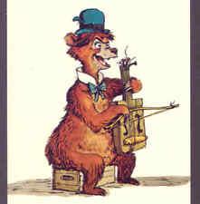 "Disney ""Beau Brummell"" Country Bear,Viola?, Postcard"