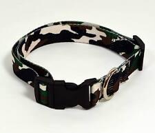 Brand New Adjustable Camouflage Dog Pet Collar