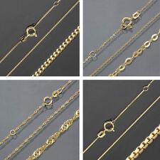 ★★★ Kette Gelbgold 333 Gold 40 45 Halskette Goldkette Damen Herren ECHT & NEU ✔