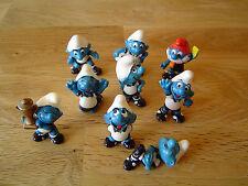 Die Fußballschlümpfe  D  1988 Auswahl Einzelfiguren Fussballschlümpfe