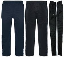 Para Hombre Chándal Pantalones Pantalones de pista talla grande 3XL 4XL 5XL 6XL Bolsillos con Cremallera BNWT