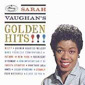 1 of 1 - Sarah Vaughan : Golden Hits!!! CD (1991) Mercury Records