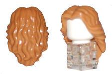 LEGO LIGHT BROWN LONG HAIR FEMALE GIRL PRINCESS  FOR MINIFIGURE