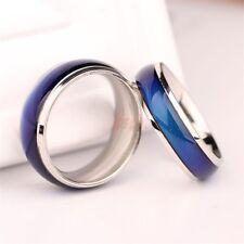 Women/Men Amazing Retro Cool Trendy Temperature Colour Change Mood Ring