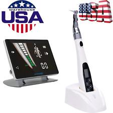 Wireless LED Endo Motor Endodontic Treatment Handpiece+Dental Apex Locator TOP