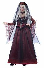 Immortal Vampire Bride Dress Veil Gothic Gown Costume Adult Women