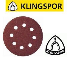 Ponçage papier de verre disques velcro klingspor PS22K 125mm velc wood & metal