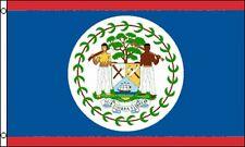 Flag of Belize 3x5 ft Banner former British Honduras Nation Country
