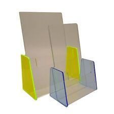 BLACK illustrativo titolari Menu CONTATORE Dispenser BUSINESS CARD Porta DL A5 A6 /& A4