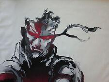 Metal Gear Solid Mg Pintura 28x16 en. no de una impresión o póster. Enmarcado disponible