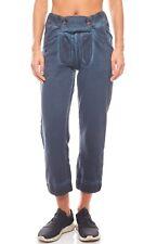 KangaROOS Hose Trachten Jogginghose 7/8 Stoffhose Sweat Pants Sweat Blau SALE