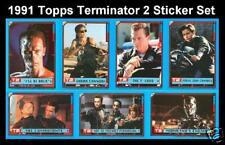 1991 Topps Terminator 2 - Complete Sticker Set (44) NEAR MINT