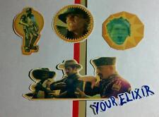 Lot Of 4 Pcs Muse Knights Of Cydonia Guitar Case Amp Board Rare Sticker