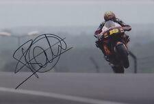 Alvaro Bautista Hand Signed Moto GP 2012 San Carlo Honda Photo 12x8 1.