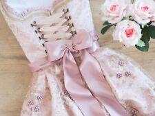 Krüger Dirndl Rosalia 44556 44555 50er oder 60er Rocklänge rosa creme rose