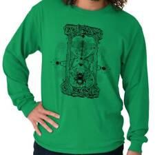 Insect Phantom Hourglass Bee Shirt | Spirit Tarot Illuminati Long Sleeve T Shirt
