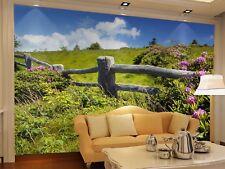 3D Prato Colonna·Parete Murale Foto Carta da parati immagine sfondo muro stampa