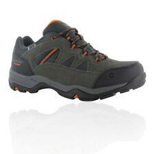 Hi-Tec Mens Bandera II Low WP Walking Boots Grey Orange Sports Outdoors