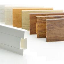 Bodenleisten Laminat 75mm Kunststoff Leisten PVC Profile Sockel